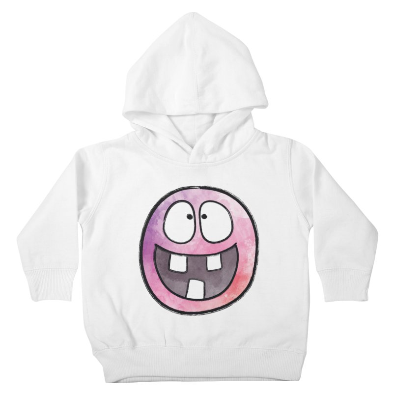 Smiley-Face - 3-teeth Kids Toddler Pullover Hoody by Puttyhead's Artist Shop
