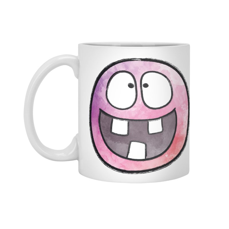 Smiley-Face - 3-teeth Accessories Mug by Puttyhead's Artist Shop