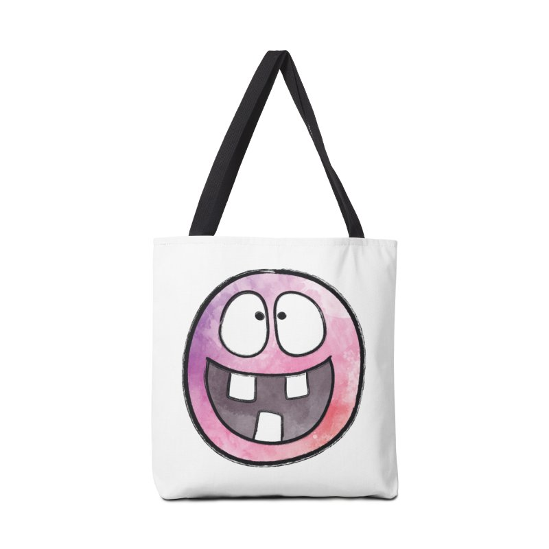 Smiley-Face - 3-teeth Accessories Bag by Puttyhead's Artist Shop