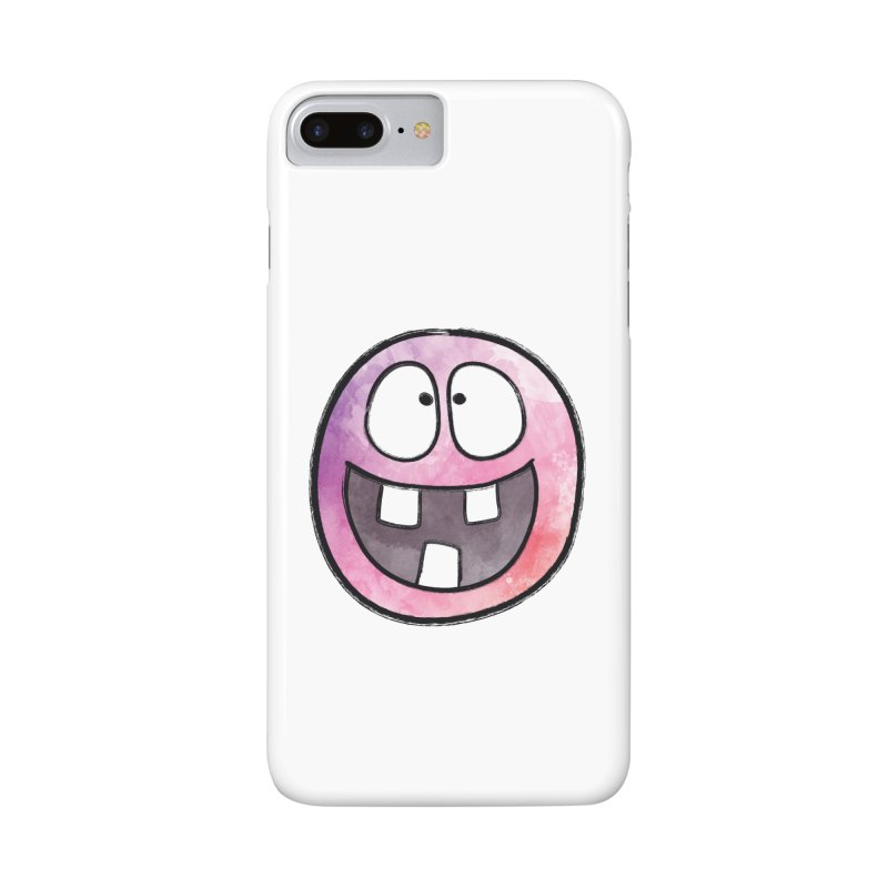 Smiley-Face - 3-teeth Accessories Phone Case by Puttyhead's Artist Shop