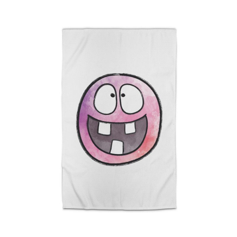Smiley-Face - 3-teeth Home Rug by Puttyhead's Artist Shop