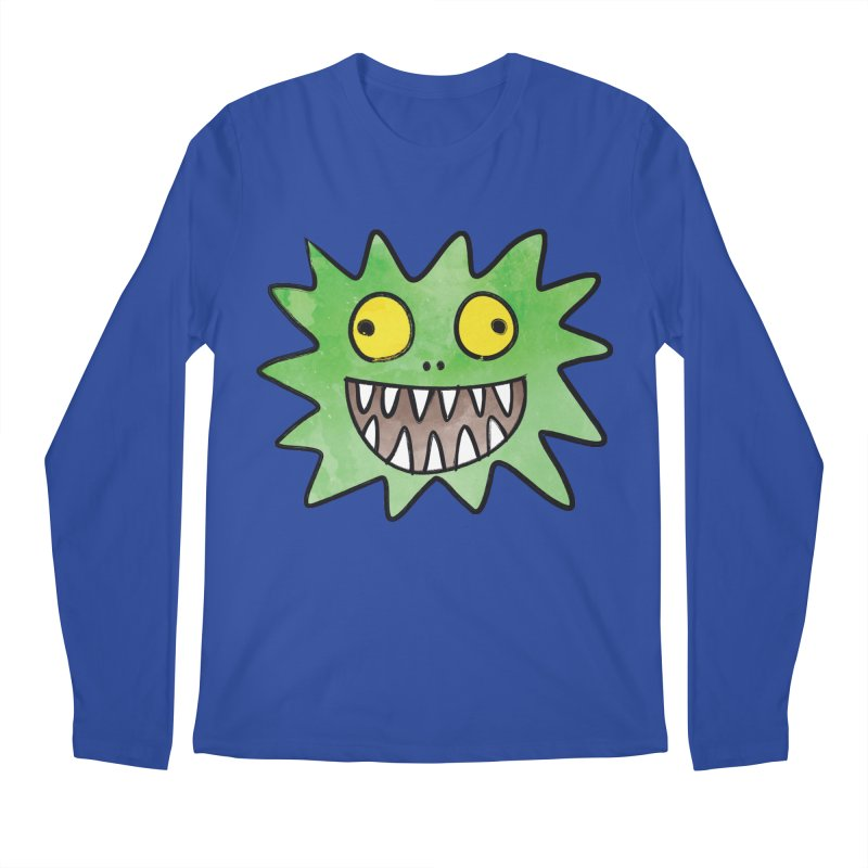 Smiley-Face - Monster Men's Longsleeve T-Shirt by Puttyhead's Artist Shop