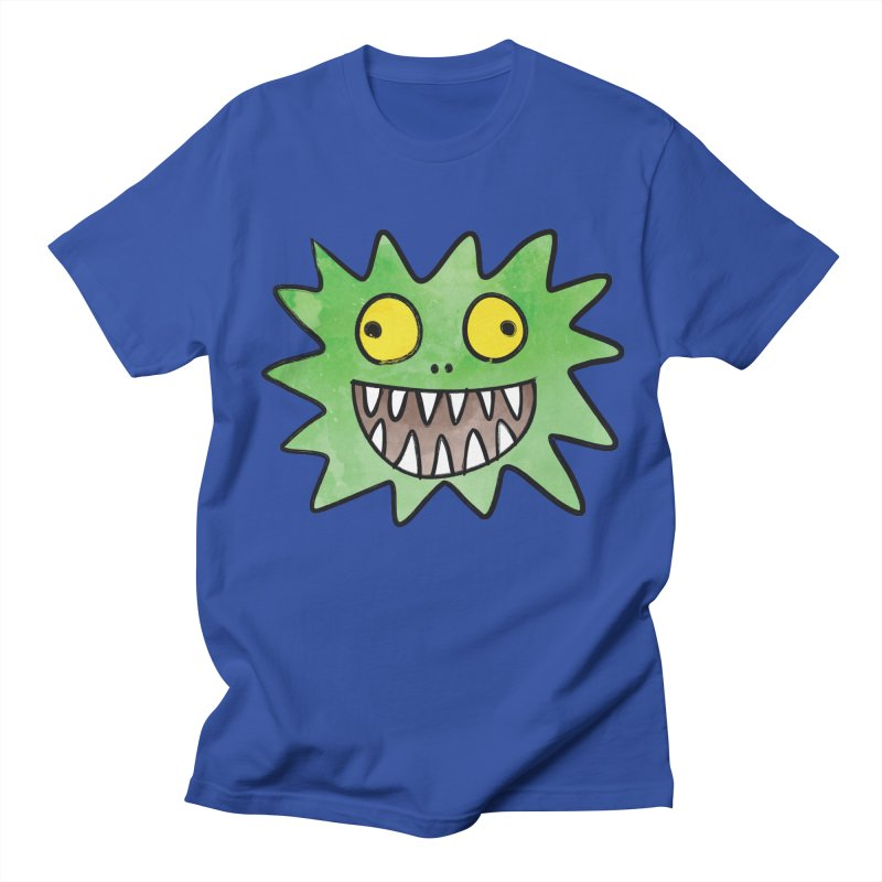 Smiley-Face - Monster Men's T-shirt by Puttyhead's Artist Shop