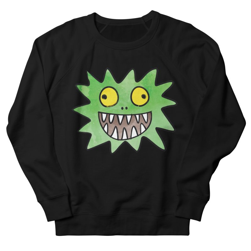 Smiley-Face - Monster Men's Sweatshirt by Puttyhead's Artist Shop