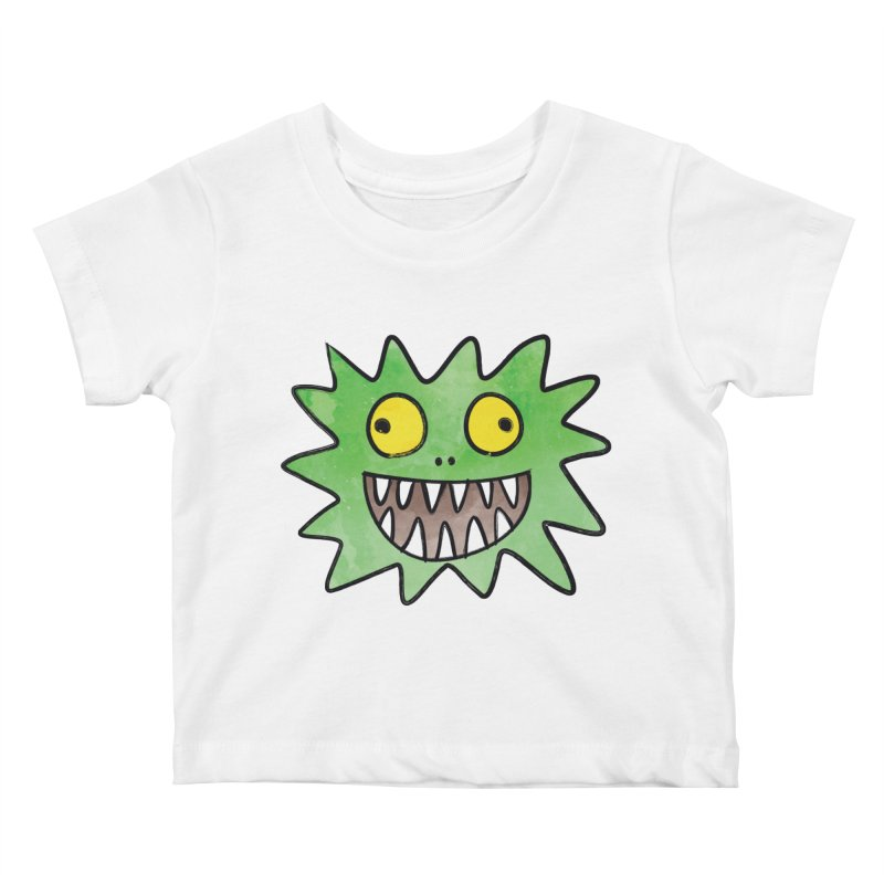 Smiley-Face - Monster Kids Baby T-Shirt by Puttyhead's Artist Shop