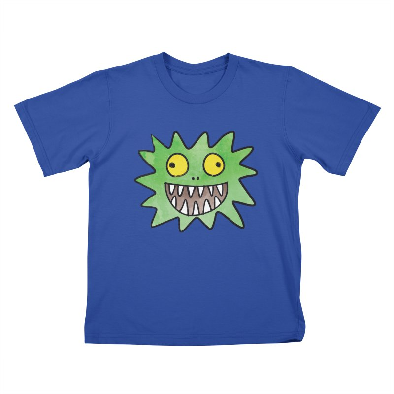 Smiley-Face - Monster Kids T-shirt by Puttyhead's Artist Shop