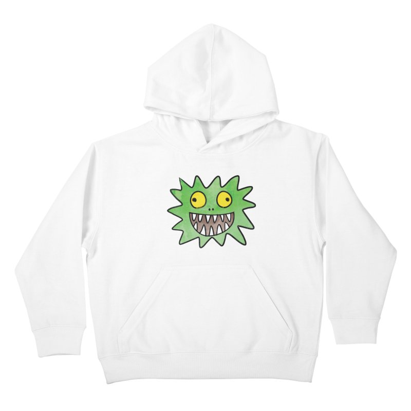Smiley-Face - Monster Kids Pullover Hoody by Puttyhead's Artist Shop