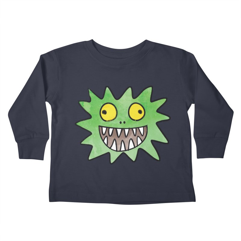 Smiley-Face - Monster Kids Toddler Longsleeve T-Shirt by Puttyhead's Artist Shop