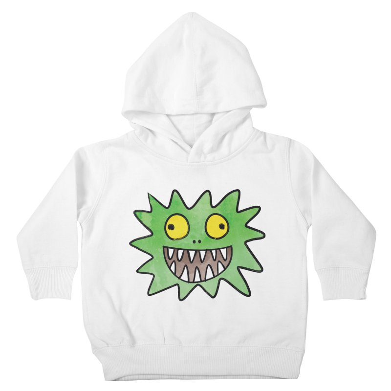 Smiley-Face - Monster Kids Toddler Pullover Hoody by Puttyhead's Artist Shop