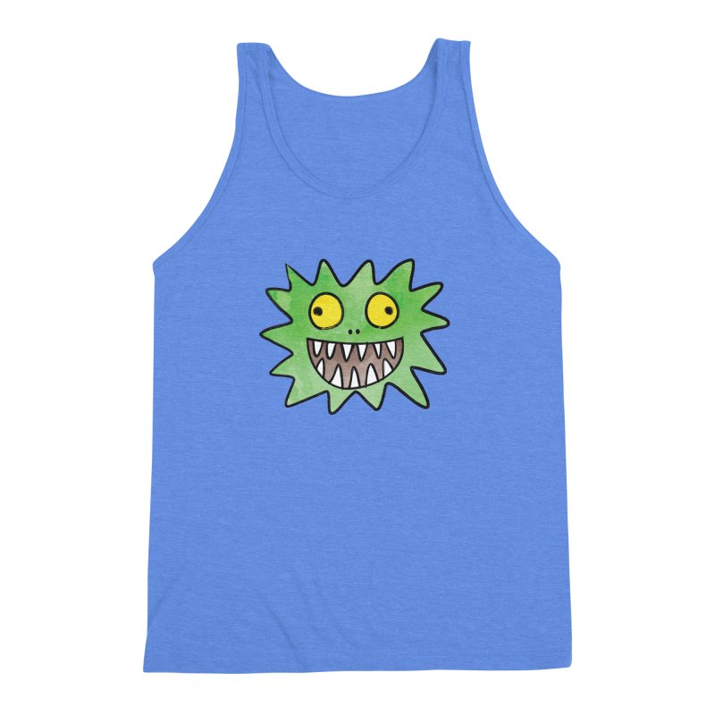Smiley-Face - Monster Men's Triblend Tank by Puttyhead's Artist Shop
