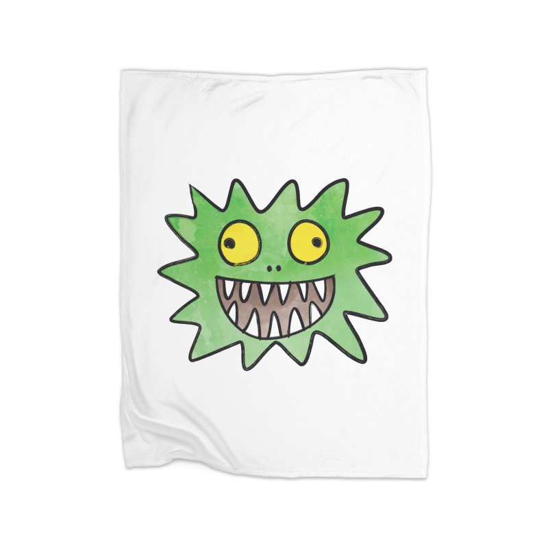 Smiley-Face - Monster Home Blanket by Puttyhead's Artist Shop