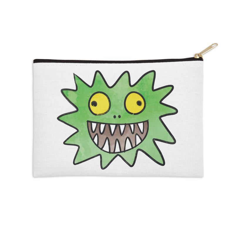 Smiley-Face - Monster Accessories Zip Pouch by Puttyhead's Artist Shop