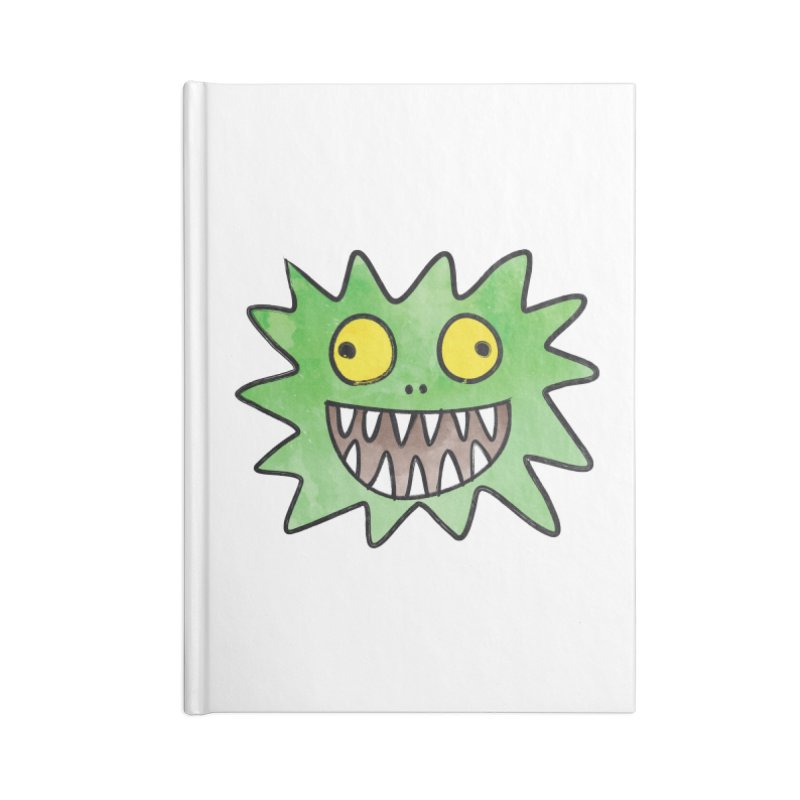 Smiley-Face - Monster Accessories Notebook by Puttyhead's Artist Shop