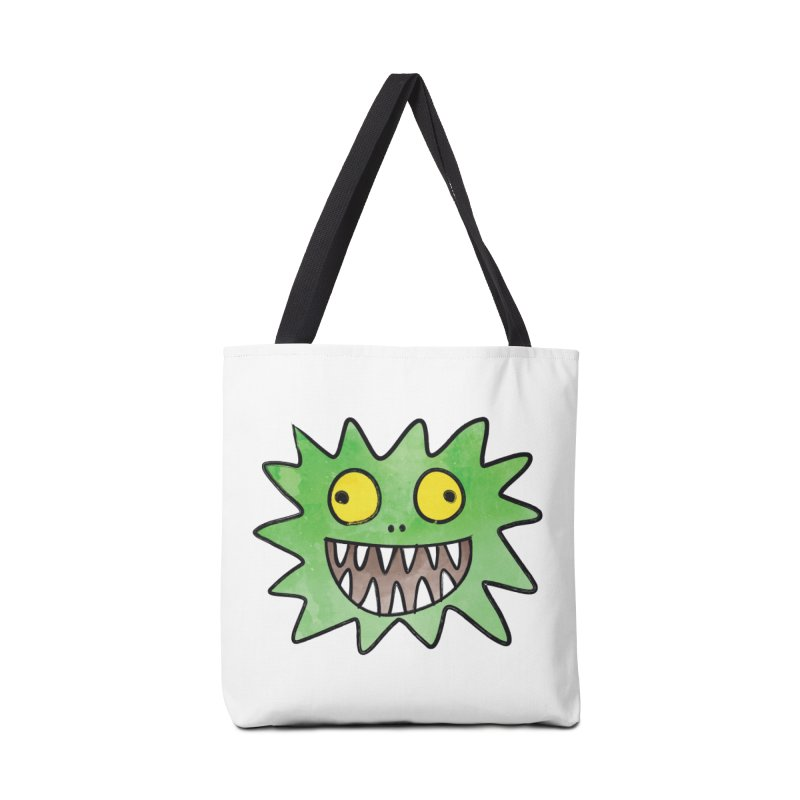Smiley-Face - Monster Accessories Bag by Puttyhead's Artist Shop