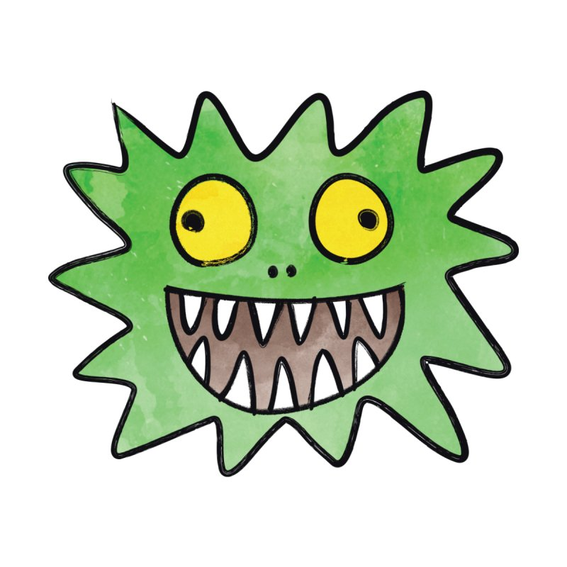 Smiley-Face - Monster by Puttyhead's Artist Shop