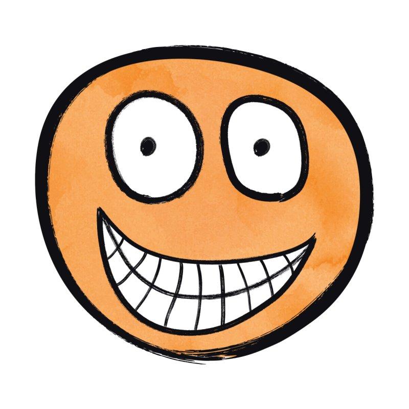 Smiley-Face - Orange None  by Puttyhead's Artist Shop