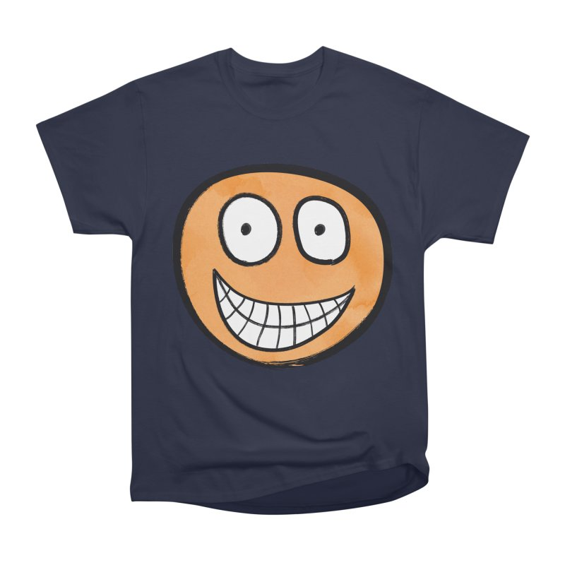 Smiley-Face - Orange Men's Classic T-Shirt by Puttyhead's Artist Shop