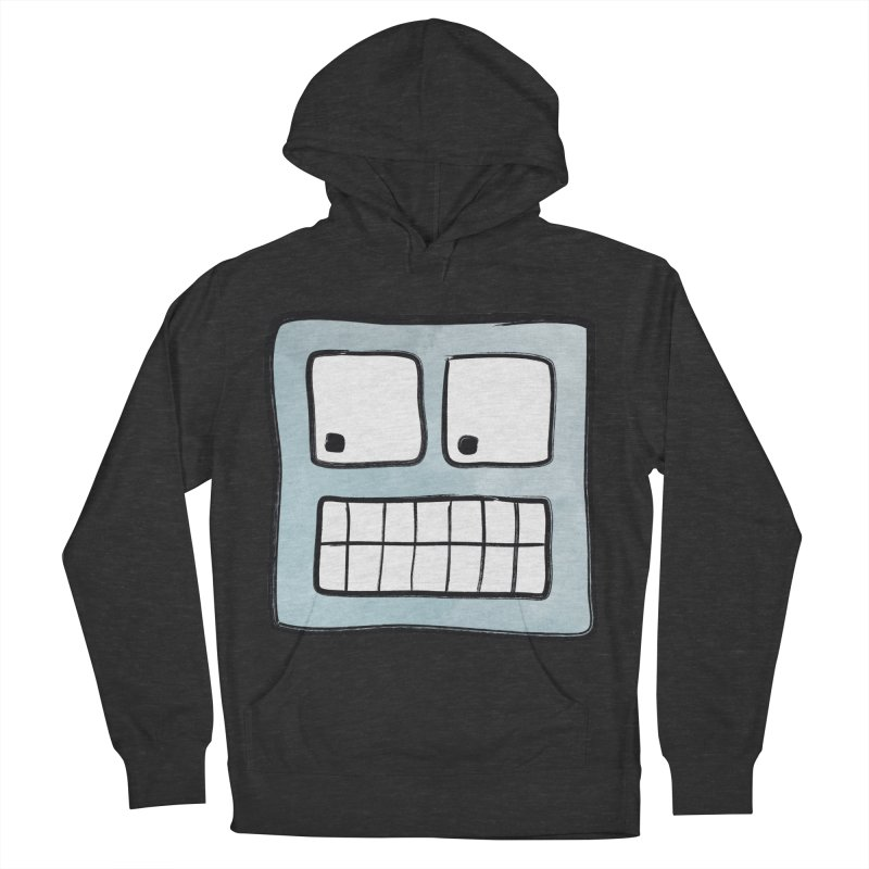 Smiley-Face - Robot Women's Pullover Hoody by Puttyhead's Artist Shop