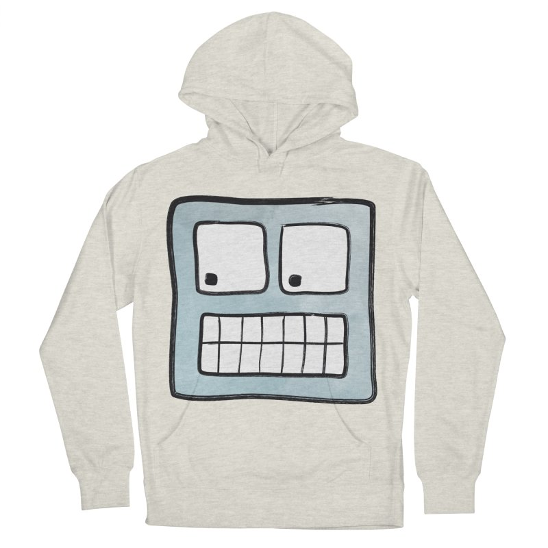 Smiley-Face - Robot Men's Pullover Hoody by Puttyhead's Artist Shop