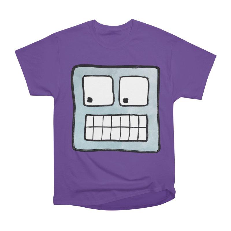 Smiley-Face - Robot Women's Classic Unisex T-Shirt by Puttyhead's Artist Shop
