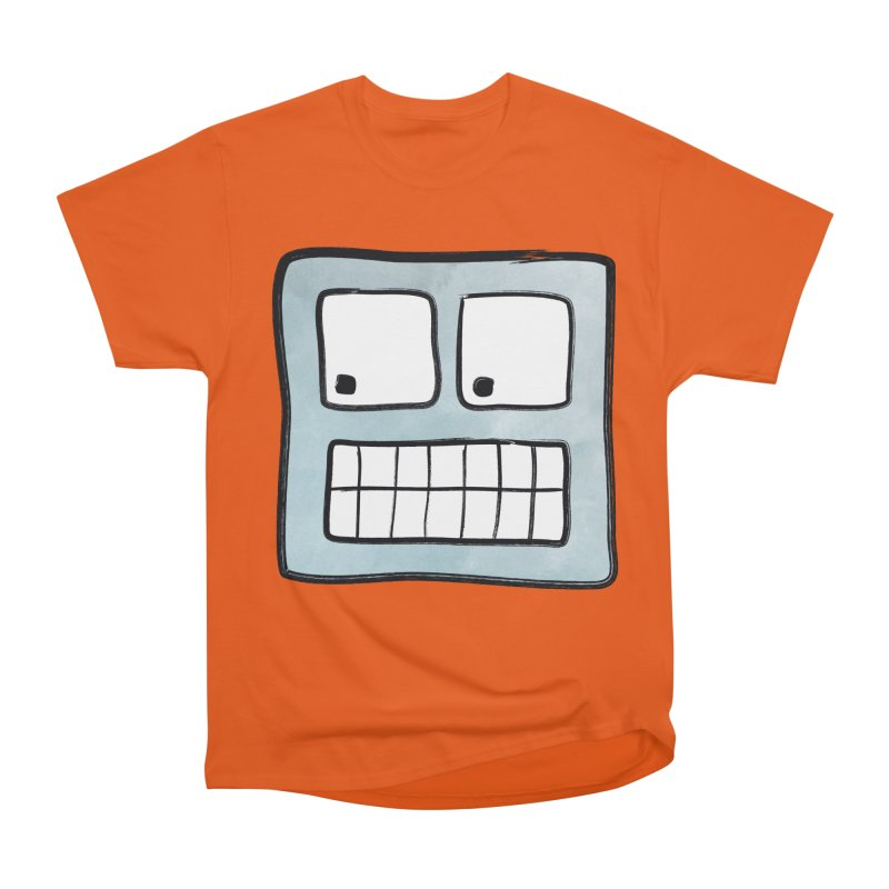 Smiley-Face - Robot Men's Classic T-Shirt by Puttyhead's Artist Shop