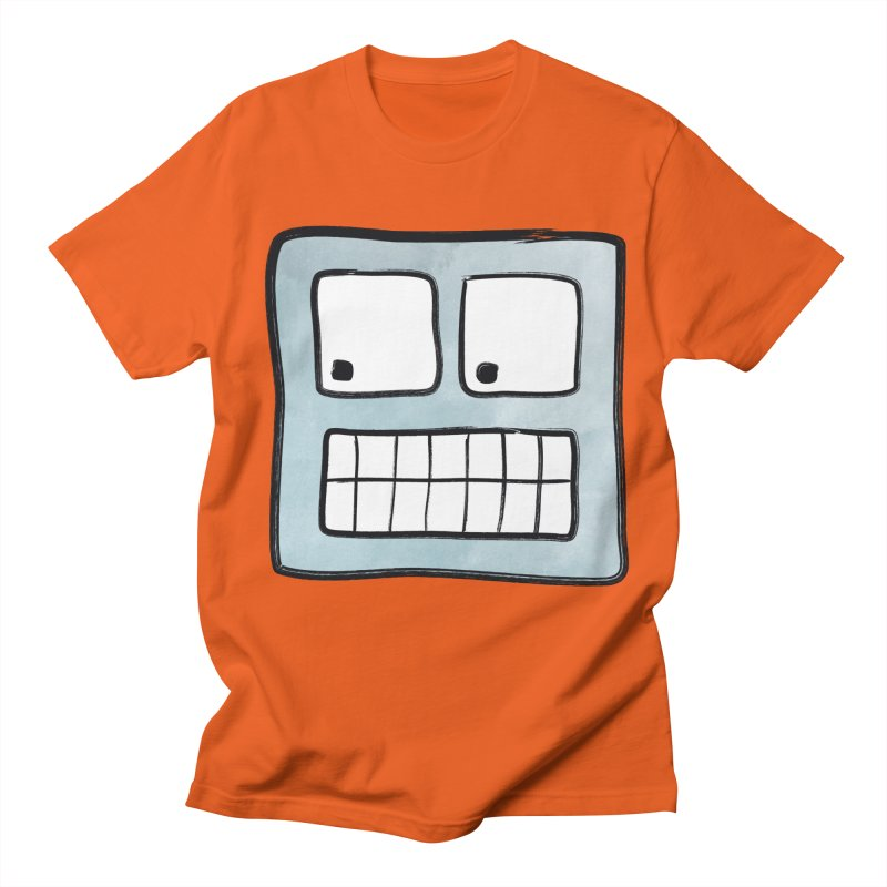 Smiley-Face - Robot Women's Unisex T-Shirt by Puttyhead's Artist Shop
