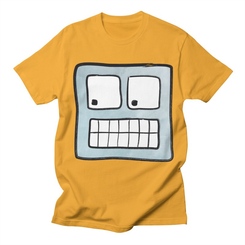 Smiley-Face - Robot Women's Unisex T-Shirt by Puttyhead's Artist Shop