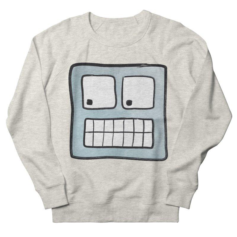 Smiley-Face - Robot Men's Sweatshirt by Puttyhead's Artist Shop