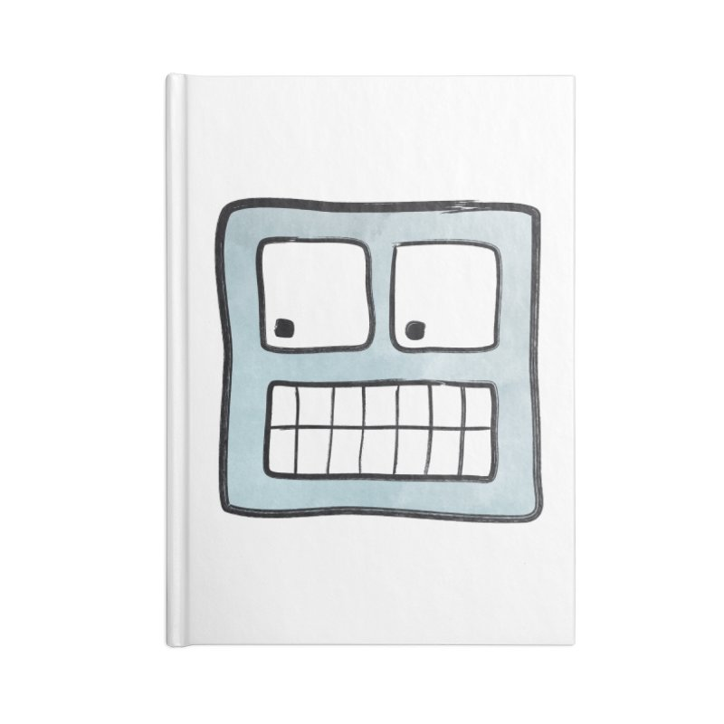 Smiley-Face - Robot Accessories Notebook by Puttyhead's Artist Shop