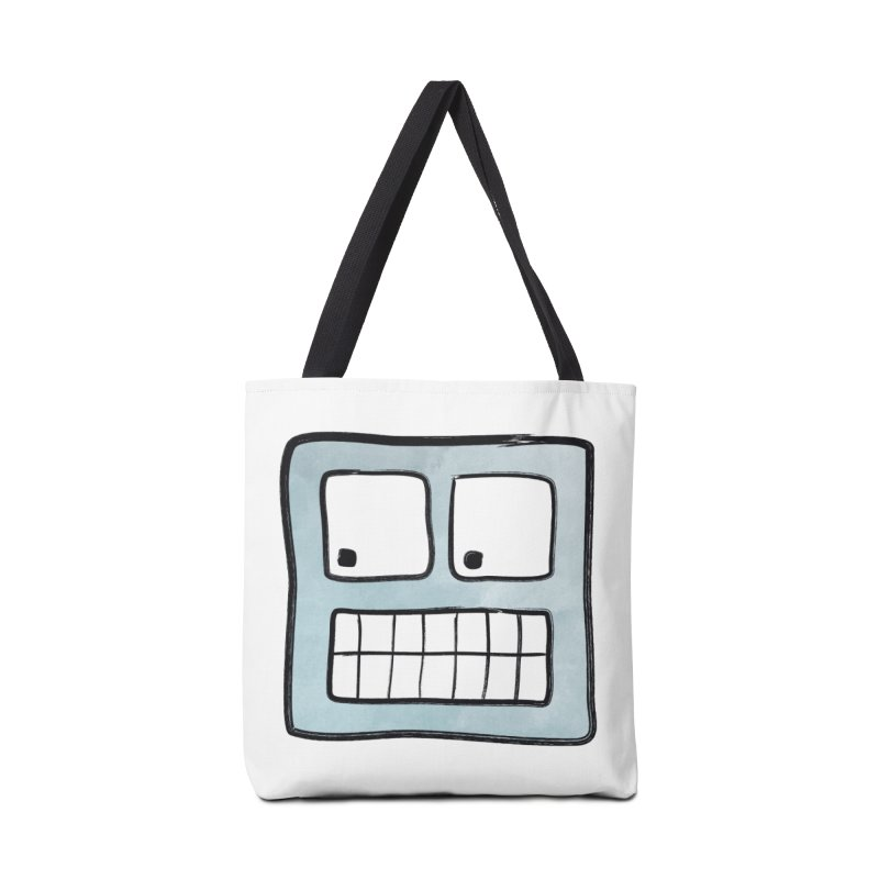 Smiley-Face - Robot Accessories Bag by Puttyhead's Artist Shop