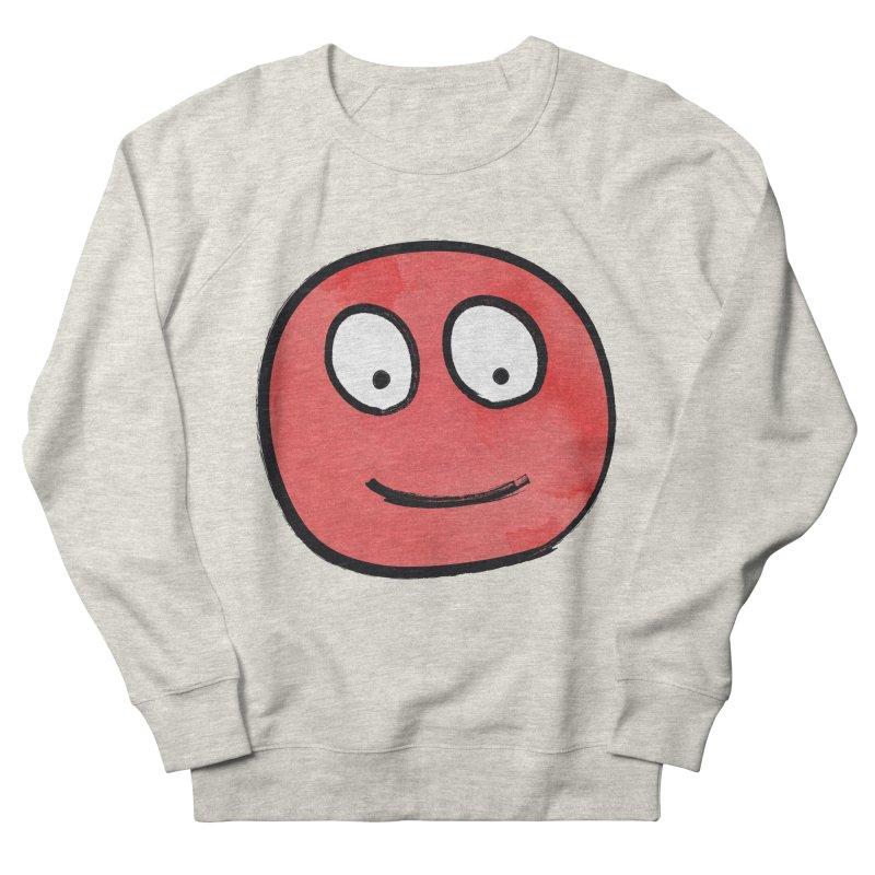 Smiley-Face - Red Women's Sweatshirt by Puttyhead's Artist Shop