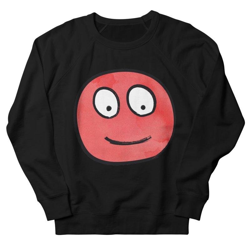 Smiley-Face - Red Men's Sweatshirt by Puttyhead's Artist Shop