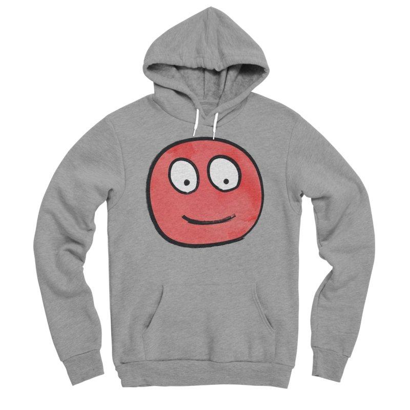 Smiley-Face - Red Women's Sponge Fleece Pullover Hoody by Puttyhead's Artist Shop