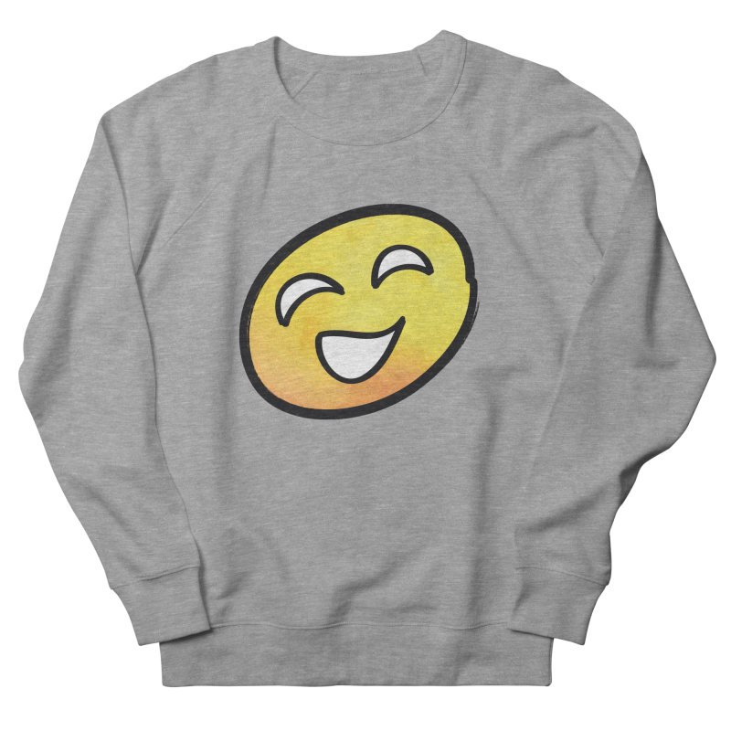 Smiley-Face - Yellow Men's Sweatshirt by Puttyhead's Artist Shop