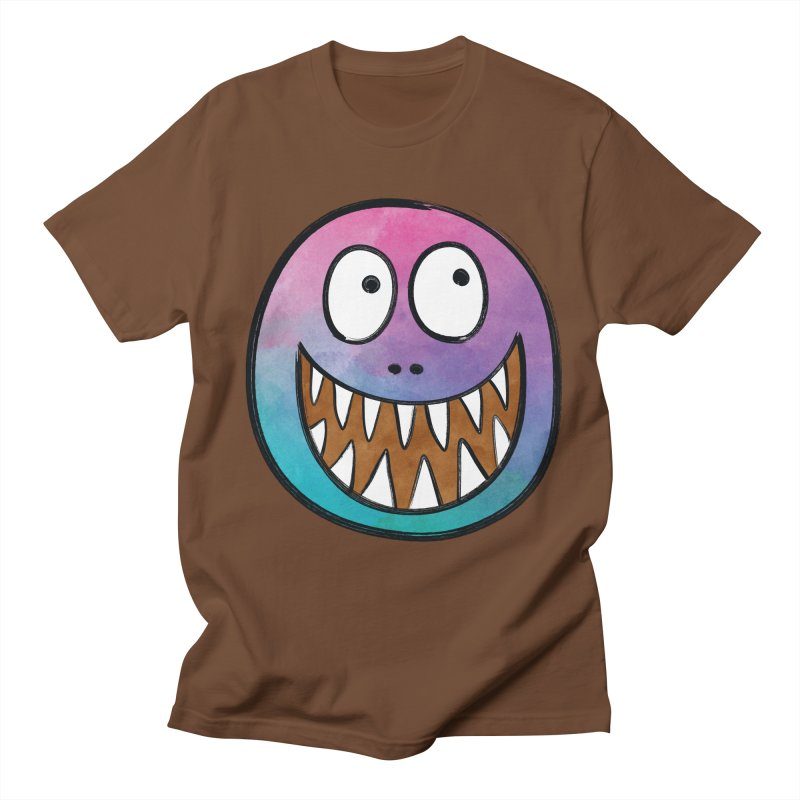 Smiley-Face - Toothy Grin Men's T-shirt by Puttyhead's Artist Shop