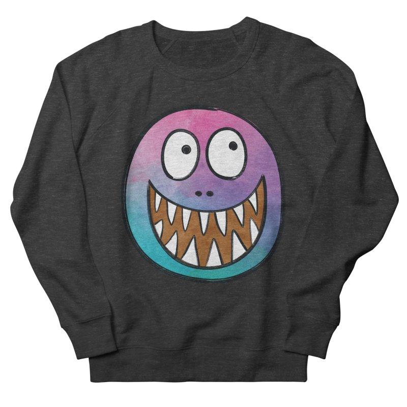 Smiley-Face - Toothy Grin Men's Sweatshirt by Puttyhead's Artist Shop