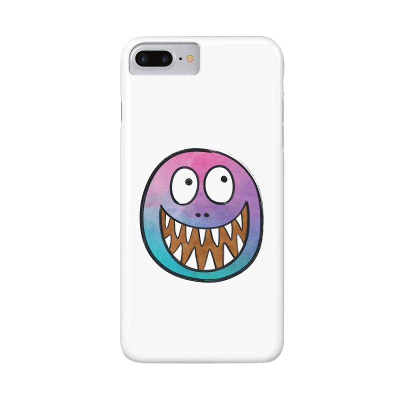 Smiley-Face - Toothy Grin Accessories Phone Case by Puttyhead's Artist Shop