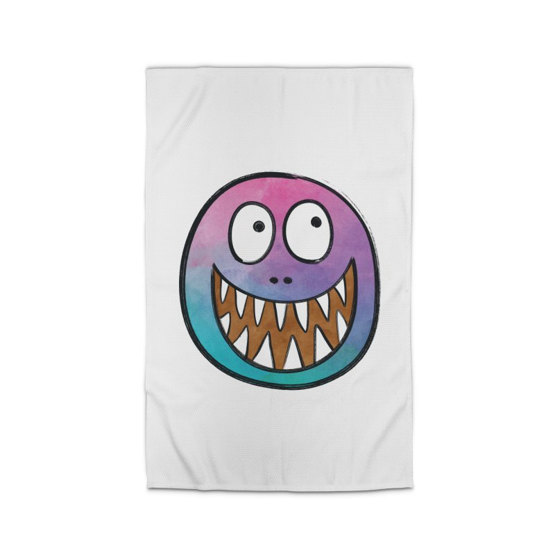 Smiley-Face - Toothy Grin Home Rug by Puttyhead's Artist Shop
