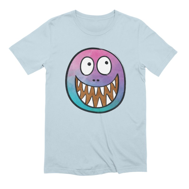 Smiley-Face - Toothy Grin Men's Extra Soft T-Shirt by Puttyhead's Artist Shop