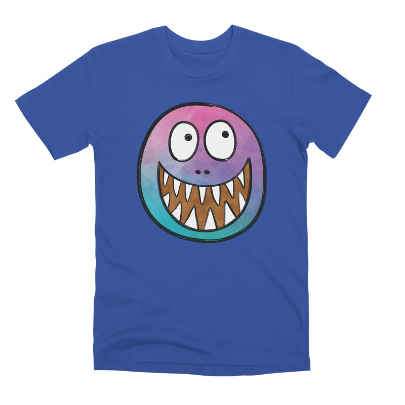 Smiley-Face - Toothy Grin Men's Premium T-Shirt by Puttyhead's Artist Shop