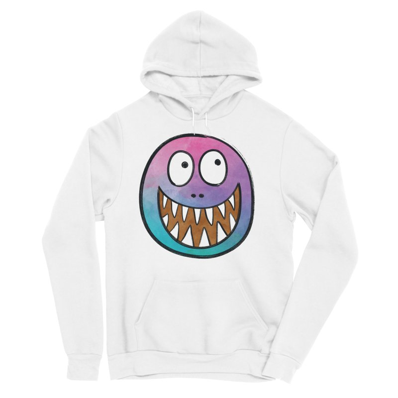 Smiley-Face - Toothy Grin Men's Sponge Fleece Pullover Hoody by Puttyhead's Artist Shop