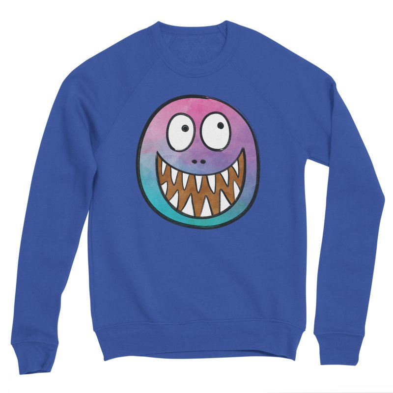 Smiley-Face - Toothy Grin Women's Sponge Fleece Sweatshirt by Puttyhead's Artist Shop