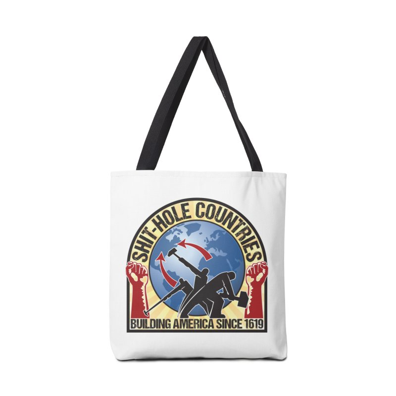 Shit-Hole Countries 1 Accessories Bag by Puttyhead's Artist Shop