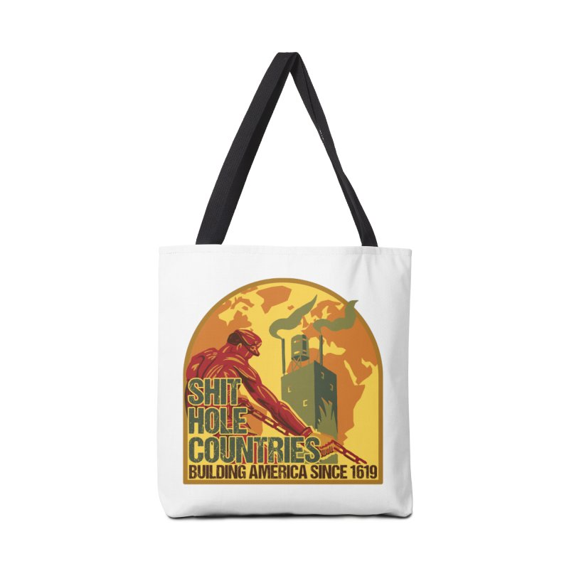 Shit-Hole Countries 2 Accessories Bag by Puttyhead's Artist Shop