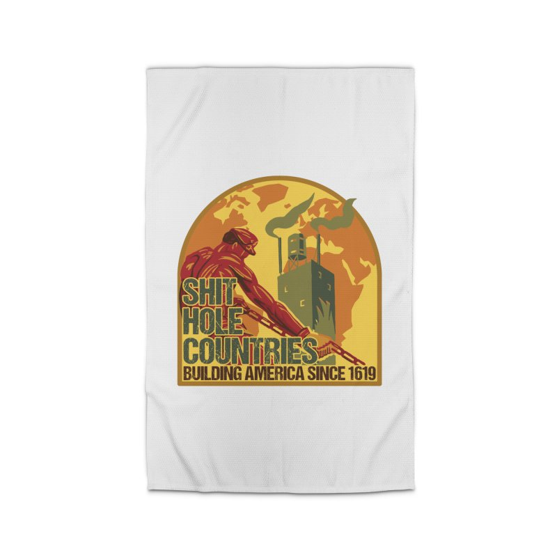 Shit-Hole Countries 2 Home Rug by Puttyhead's Artist Shop