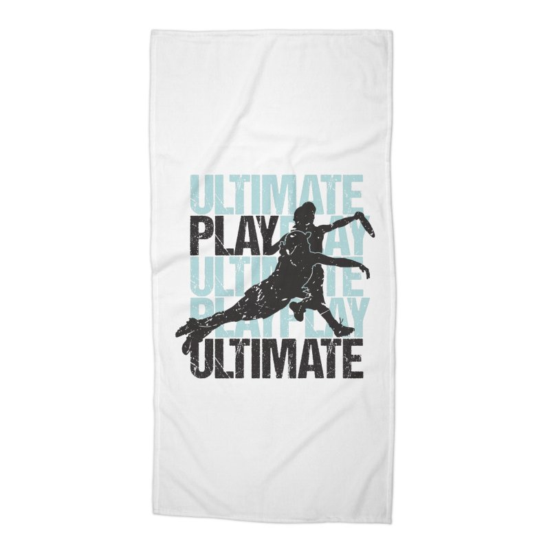 Play Ultimate 1 Accessories Beach Towel by Puttyhead's Artist Shop