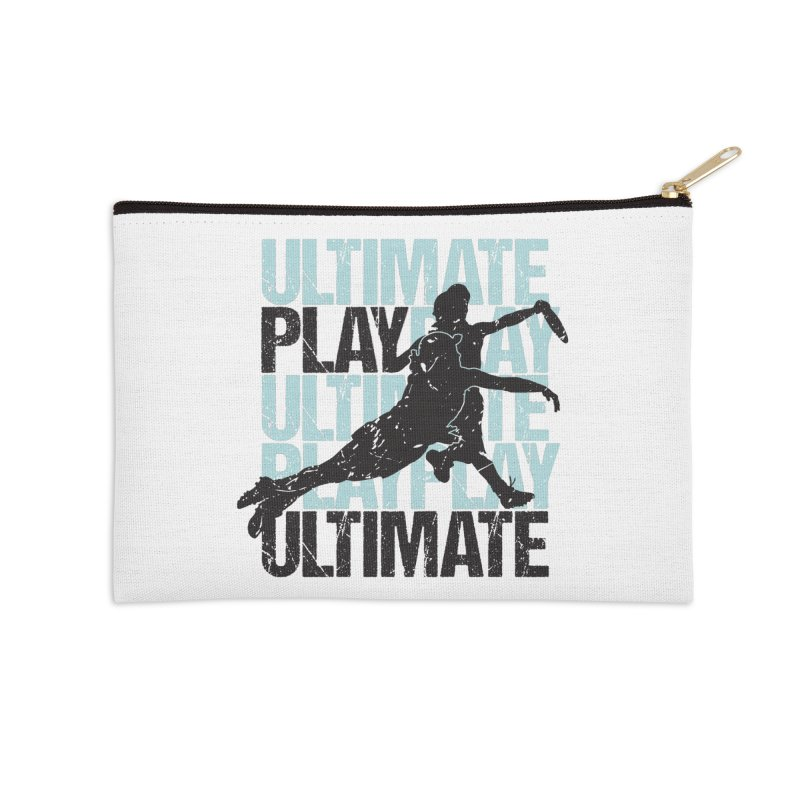 Play Ultimate 1 Accessories Zip Pouch by Puttyhead's Artist Shop