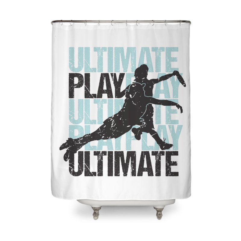 Play Ultimate 1 Home Shower Curtain by Puttyhead's Artist Shop