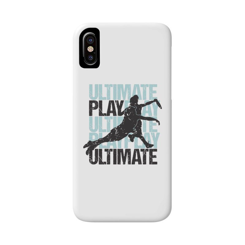 Play Ultimate 1 Accessories Phone Case by Puttyhead's Artist Shop