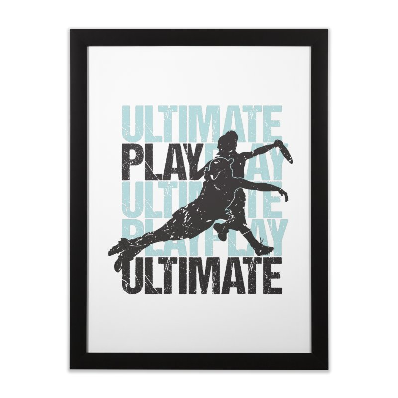 Play Ultimate 1 Home Framed Fine Art Print by Puttyhead's Artist Shop